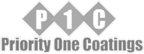 Priority One Coatings Logo