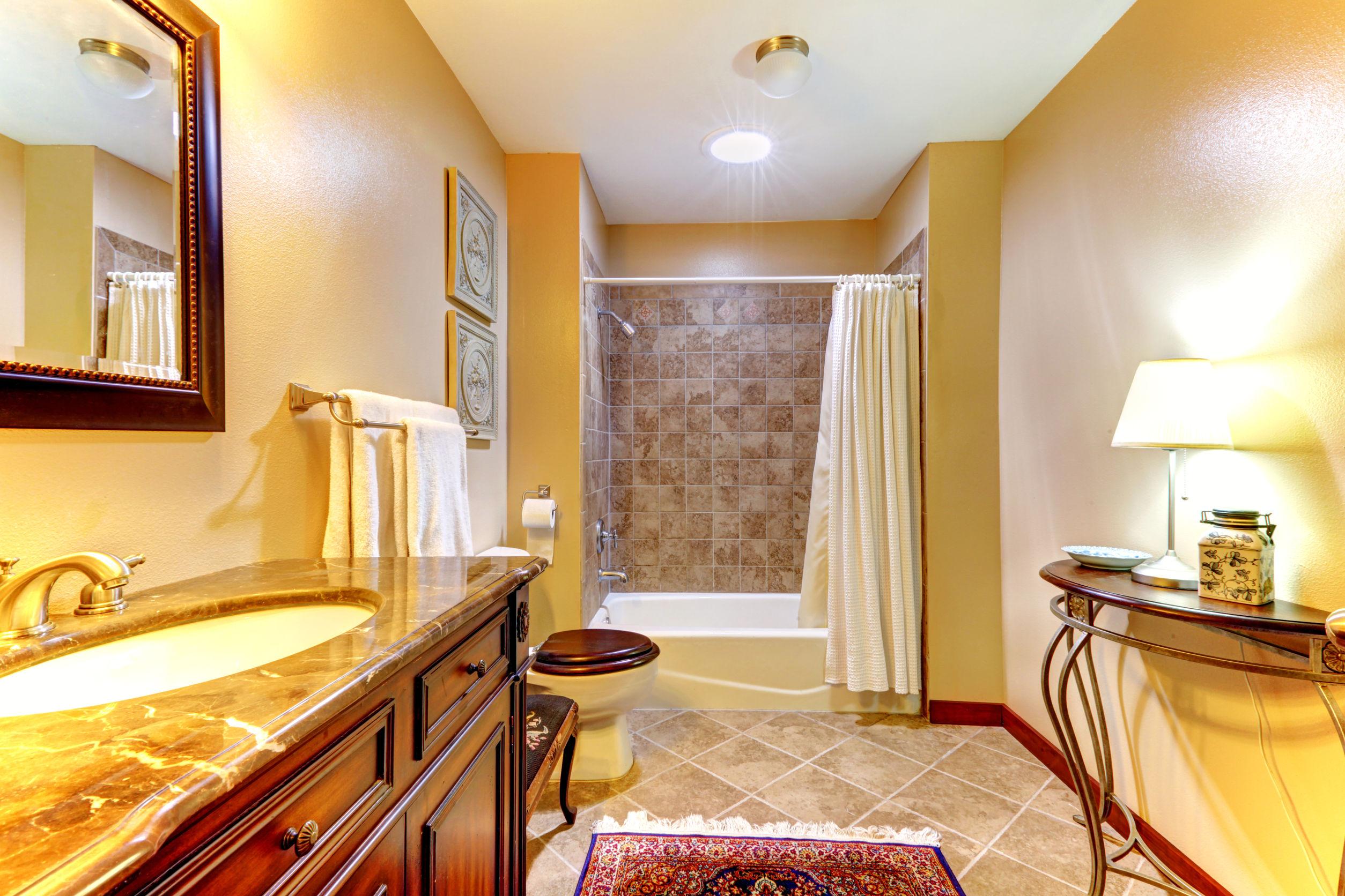 bathroom color in spring