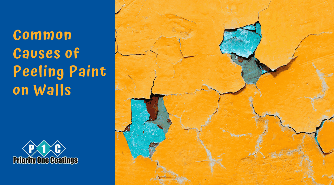 Common Causes of Peeling Paint on Walls