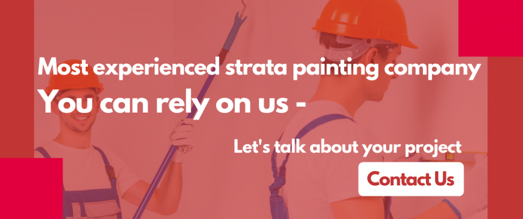 Most Experienced strata painting company in Sydney
